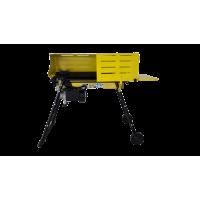 Despicator lemne orizontal 7T 230V 2.2kW cu suport inaltime si protectie Romdac