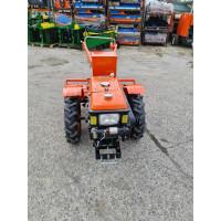 Motocultor Kentavr MB1010E 10.5 CP diesel pornire electrica dotat cu freza agricola, plug și scaun freza